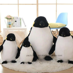 "9"" Stuffed Animal Toy Mother Penguin with Baby pictures & photos"