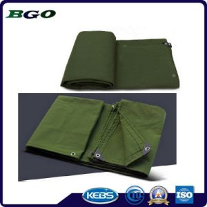 Factory Price Durable Waterpfoof Canvas Tarpaulin pictures & photos