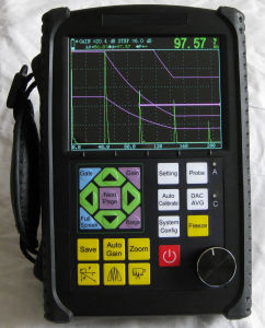 Measuring Tools Digital Ultrasonic Flaw Detector pictures & photos