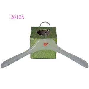 Plastic Simple Top Jacket Coat Hangers Custom pictures & photos