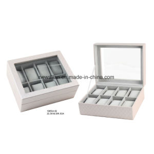 Fashion Leather Display Gift Storage Wooden Watch Box and Case pictures & photos