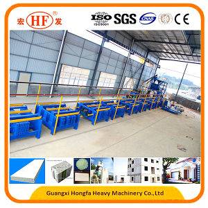 Automatic Lightweight EPS Sandwich Wall Panel Production Line for Building Material pictures & photos