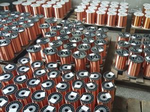 Factory Supplying Enameled Copper Round Wire for Electronics pictures & photos
