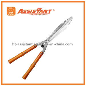 Drop Forged Hedge Shears with Beech Wood Handles pictures & photos
