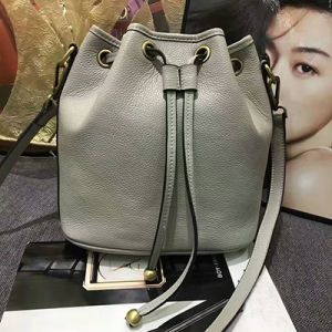 Women Leather Bucket Bags Litchi Grain Crossbody Handbags Emg4801 pictures & photos