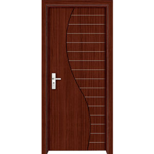 China Cheap Interior PVC Bed Room Door