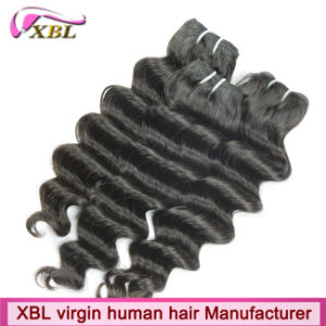 Top Quality Loose Wavy Peruvian Remy 100 Human Hair pictures & photos