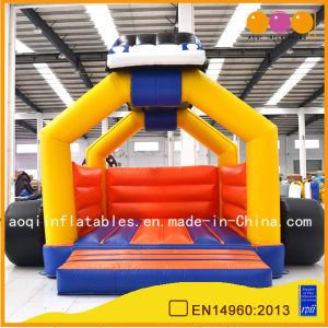 Racing Car Model Inflatable Bouncer for Kids (AQ260) pictures & photos