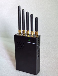 5 Antennas Portable WiFi GPS Cell Phone Jammer Blocker pictures & photos