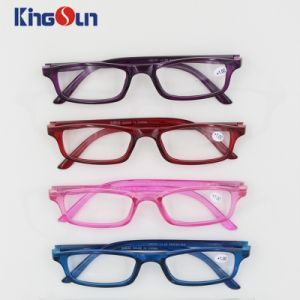 Injection Single Color Reading Glasses pictures & photos