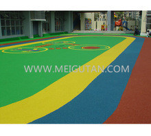 EPDM Outdoor Sports Court Rubber Flooring Rubber Tile with Various Colour