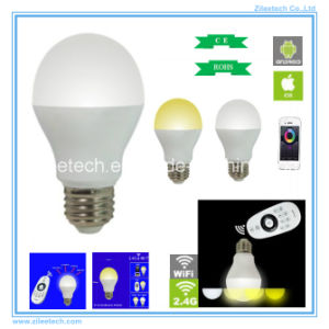 LED Ball Bulb Pixel Light E27 220V White Dimmable WiFi