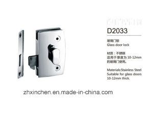 Xc-D2033 High Quality Furniture Hardware Stainless Steel Glass Door Lock pictures & photos