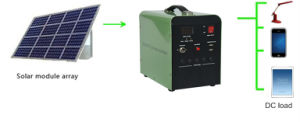 DC Portable Solar Panel System 10W/20W/30W PV System with Charger for UPS Power Supply pictures & photos