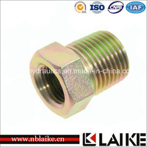 (5N) Carbon Steel NPT Male / Female Pipe Adapter (5N)