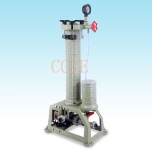Filter Capacity 30L/Min Liquid Chemical Filter for Plating Industry Hgf-2001