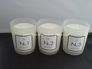 Three 32 Hours Scented Glass Candle