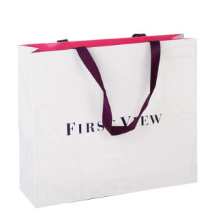 Fashion Paper Shopping Gift Bag with Logo pictures & photos