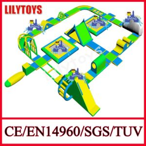 Newest 0.9mm PVC Inflatable Floating Water Park, Water Sports Equipment En15649 Certificate (Lilytoys-WP32) pictures & photos