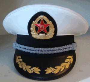 Military Hand Embroidery Peak Cap pictures & photos