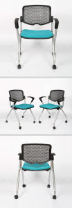 Guangdong Office Furniture Black Mesh Revolving Office Chair pictures & photos