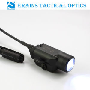 Tactical Compact CREE Q5 220 Lumens Pistol Weapon LED Light/ Flashlight with Pressure Pad Switch (ES-LS-2HY02I) pictures & photos