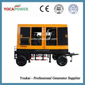 Trailer Mobile Electric Soundproof Diesel Generator Set pictures & photos