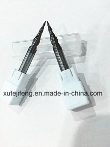 Solid Carbide Taper Ball Nose End Mills pictures & photos