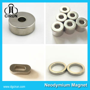 Custom Size N52 Strong Neodymium Ring Magnets