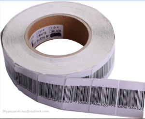 Barcode Soft Label EAS RF Label for Supermarket pictures & photos
