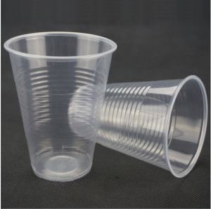 China Wholesale 10oz Disposable Clear PP Plastic Cup pictures & photos