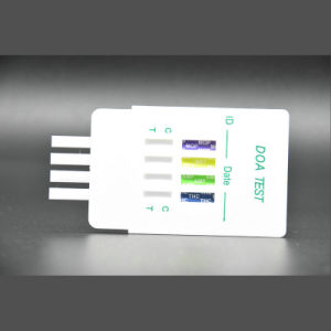 One Step Urine Doa Rapid Test Strip/Drugs Test Panel Made in China/Special Price pictures & photos