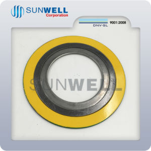 ASME16.20 Spiral Wound Gasket with Inner and Outer Ring pictures & photos