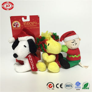 Xmas Kids Gift Anywhere Clip Sitting Dog Plush Sitting Toy pictures & photos