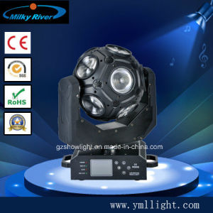 Super Bar Lights, 12*20W RGBW 4in1 Beam LED Football Moving Head Light pictures & photos