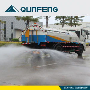 Road Washing Machine, Truck with High Pressure Water Spraying pictures & photos