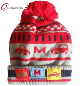 Custom Beanie Hat/Cap with Woven Label (17084) pictures & photos