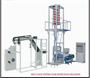 Self-Lock Zipper Film Roll Blowing Machine for Zippers Bags (DC-BC500) pictures & photos