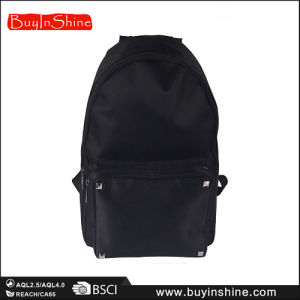 High Quality Black Studed Riverts Women Backpack Bag