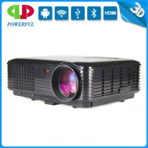 The Newest 3500 Lumens Projector with Android, WiFi for Home Use, HD, VGA, 3D. Best Quality! pictures & photos