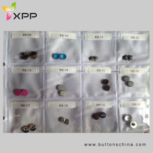 9mm Brass Metal Rivet with Aluminum Pin pictures & photos