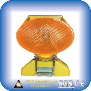 Solar Flashing Warning Light