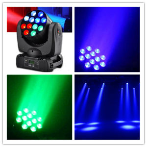 12*10W Mini CREE Moving Head LED Beam Light pictures & photos