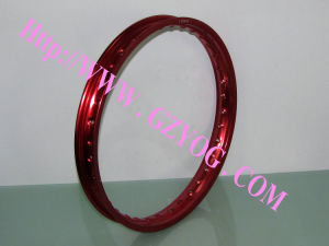 Yog Good Quality Motorcycle Parts Aluminum Rim Complete Steel Wheel Rim Color Blue Green Red Titan Bajaj Cargo 185-18 160-18 1.40-18 215-17 160-17 Akt pictures & photos
