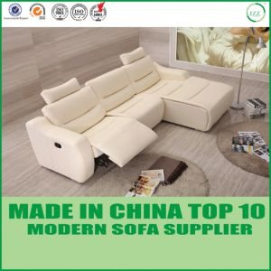 Motion Recliner L Shape Leather Corner Sofa pictures & photos
