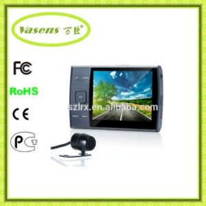 Rearview Camera 2 Channel 3.5 Inch 140 Degree Car Camera DVR pictures & photos