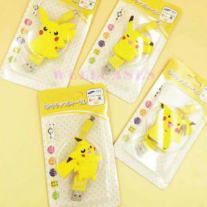 Pokemon Go Pikachu Retractable Micro USB Data Cable for Samsung pictures & photos