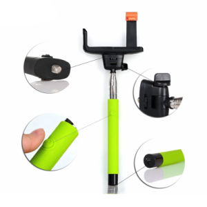 Wholesale Wireless Bluetooth Mobile Phone Monopod Selfie Stick pictures & photos