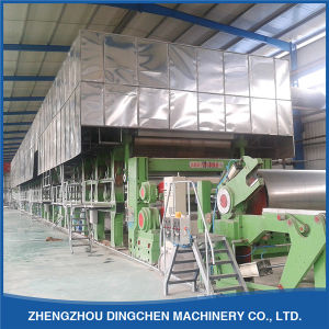 Small Waste Paper Recycling Machine Brown Paper Machinery 1575mm 5-8tpd pictures & photos
