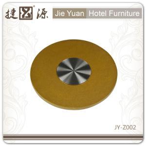 Factory Price Hotel Furniture Transparent Lazy Susan (JY-Z001) pictures & photos